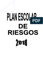 Proyecto Prevencion de Desastres 2018