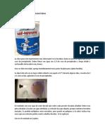 TRANSMUTACION DE ORO CON BACTERIAS
