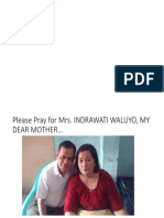 NEED YOUR PRAYER FOR MY MOTHER'S SOUL