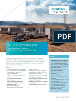 SIEMENS SGT-A45 MOBILE UNIT DATA SHEET