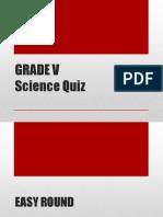 Dist Science Quiz Bee