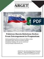 Pak Russia Relations