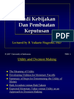 Utility & Decision Making.ppt