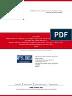 DIFICULTADES DE APRENDIZAJE Y CAMBIO CONCEPTUAL, PROCEDIMENTAL Y AXIOLÓGICO (I):