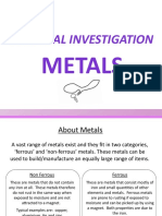 Year 7 Metals