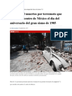 Volcán Popocatépetl Hizo Erupción Tras El Sismo 7