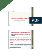 11 Teorema Del Limite Central