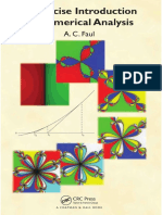 A Concise Introduction to Numerical Analysis - Faul