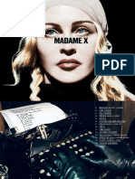 CD Madonna - Madame X (Digital Booklet)