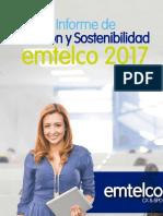 Informe Gestion y Sostenibilidad Emtelco 2017