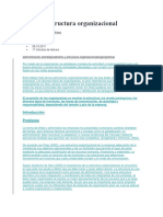 Tipos de Estructura Organizaciona1