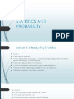 Statistics and Probability 0