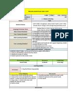 English Lesson Plan Year 1 Cefr Week 1&2 14.1.2019