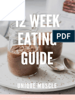 Unique Muscle 12 Week Eating Guide