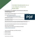 Para la actividad de proyecto 3 DETERMINAR LA MIGRACIÓN DE DATOS DE ACUERDO CON LOS REQUERIMIENTOS DE LA ORGANIZACIÓN.docx