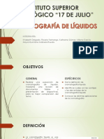 crematografia de liquidos