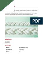 Polyamid or NYLON Rope