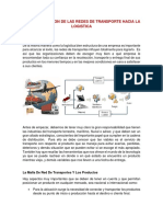 IMPORTANCIA DE LAS REDES DE TRANSPORTE
