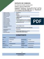 PAGO DE COMISIONES, NO ELUSIÓN Y NO DIVULGACIÓN