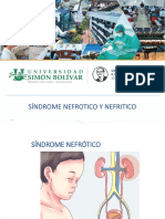 Síndrome nefritico y nefritico