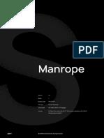 Manrope docs
