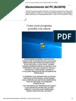 Como Crear Programa Portable Con Winrar _ Mantenimiento Del PC (Airi2010)