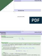Suceciones, Limites y Teoremas