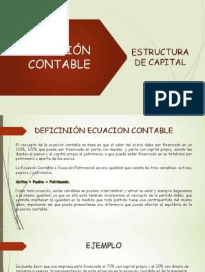 Estructura Contable Accounting Estate Law