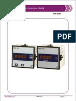 4 Digit Power PF DPM (Size-96X96)