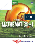Std. 11th Perfect Mathematics - 1 Notes Science and Arts Mh Board 3d Book-1