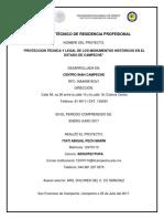 Informe Técnico de Residencia Final Con Referencias a CD.