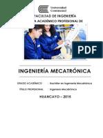 Ingenieria Mecatronica UC