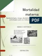 Mortalidad Materna