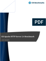 CIS Apache HTTP Server 2.4 Benchmark v1.5.0