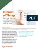 Internet of Things Pov