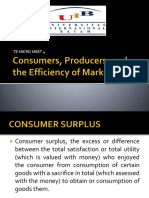5. Consumers, Producers, And the Efficiency Of