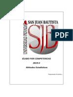 Silabo Metodos Estadisticos 2019-II