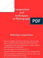 Composition and Techniques in Photography