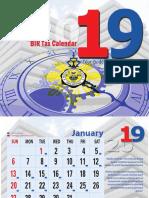 bir calendar