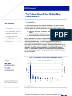 RREEF the Future Size of the Global Real Estate Market (2007)