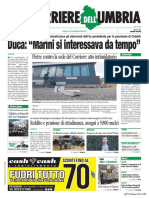 Rassegna stampa dell'Umbria martecì 30  luglio 2019 UjTV News24 LIVE