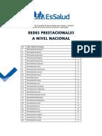 Directorio Redes Provincias Essalud 2019