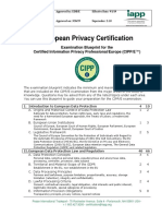 CIPP_Exam blueprint.pdf
