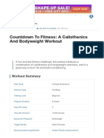 Countdown to Fitness_ a Calisthenics and Bodyweight Workout _ Muscle & Strength