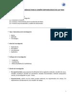 UPCI 05 - Diseño Metodológico de La Tesis Penúltima Clases