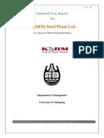 Industrial Tour Report on KSRM