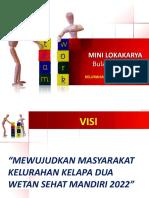Paparan Minlok 18 April 2019