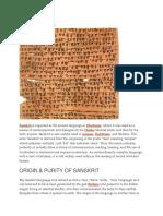 History of Sankrist