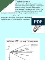 Thermocouple presentation
