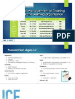 The learning organisation OB